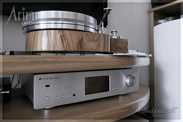 Gramofon Adfontes i Cambridge Audio Azur 851N