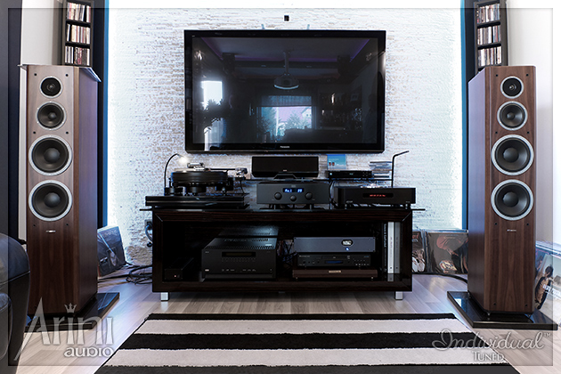 System stereo z Dynaudio Focus 340